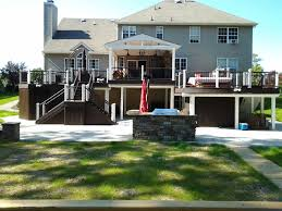 Design For Decks With Roofs Ideas Decks With Roofs Covered Deck Builder Amazing Decks