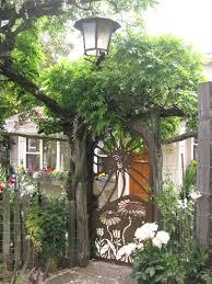 metal garden arches with gates uk satuska co beautiful garden