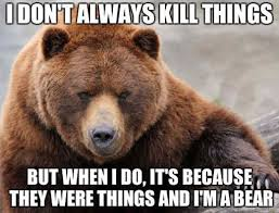 Sad Bear Meme - brown bear talks about its conquests in realist meme