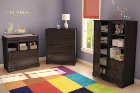 Modern Nursery Furniture Sets Affordable Espresso Wooden Nursery Furniture Set Present