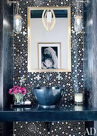 Bathroom Feature Tile Ideas Colors Best 25 Mosaic Tile Bathrooms Ideas On Pinterest Subway Tile