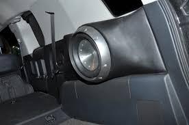 jeep patriot speakers sub enclosure rear speaker spacers sub etc toyota fj