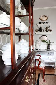 Dining Room Chest by Using Silver Spray Paint With Furniture Wax Redecorating The