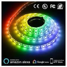 best buy led light strips texsens led light strip 164ft 5m smart phone controlled lightstrip