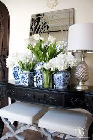 Blue And White Kitchen Best 25 White Vases Ideas On Pinterest Painted Vases Spray