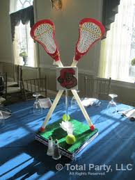 Basketball Centerpieces Lacrosse Centerpiece Ideas Lacrosse Booster Club Ideas Pinterest
