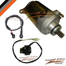 Wildfire Yukon by Wildfire Jonway 125cc 150cc Starter Motor And Relay Solenoid