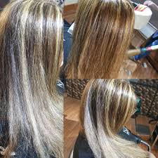 how to blend hair color the ultimate fall hair color done at reflektions a balanced blend