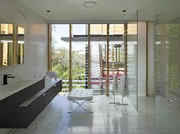 white marble tiles bathroom taringa house in brisbane australia
