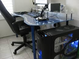 Top Gaming Desks by Desk L Shaped Gaming Desk Regarding Voguish Fascinating L Shaped
