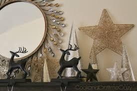 cook and craft me crazy glitter scrapbook paper cone trees