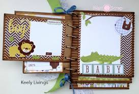 baby boy photo album baby boy album archives st scrapbook expo