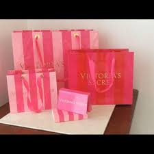 pink gift bags s secret s secret gift bags gift card box