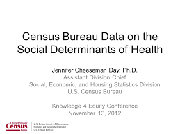 bureau social census bureau data on the social determinants of health ppt
