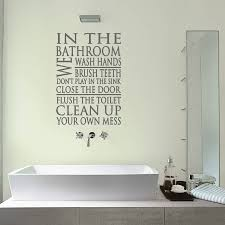 coolest wall stickers for bathrooms also interior home inspiration fancy wall stickers for bathrooms for your modern home interior design ideas with wall stickers for