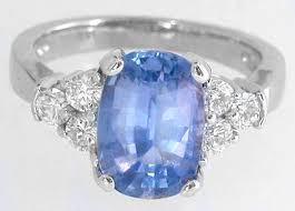 light blue sapphire ring cushion cut ceylon sapphire ring in 14k white gold ssr 5652