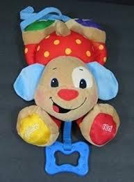 amazon com lil laugh u0026 learn puppy musical baby crib toy sing
