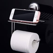 aliexpress com buy finether stainless steel toilet paper holder