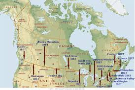 map us canada map us border with canada major tourist attractions maps