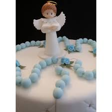 baptism cake toppers communion boy baptism angel topper rosary cake topper boy