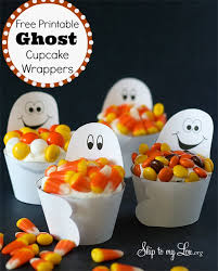 ghost cupcake wrappers skip to my lou