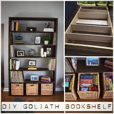 diy goliath bookshelf