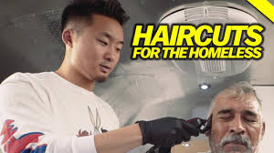 fungbros haircut haircuts for the homeless youtube