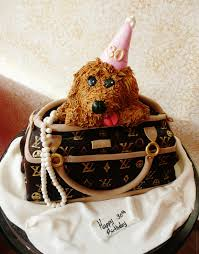 baking with roxana u0027s cakes lv bag with poodle 30th birthday cake