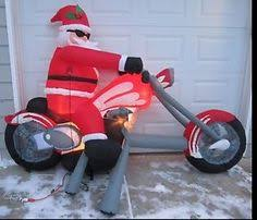Snoopy Inflatable Christmas Decoration by Christmas Snoopy On Chopper Peanuts Inflatable Motorcycle Http