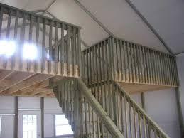 building a loft in garage metal garage with loft