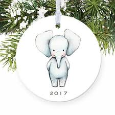 elephant ornaments for children