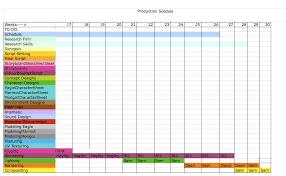 tara dulake u0027s ba blog production schedule