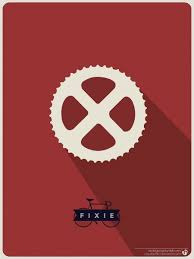bike gear fixed gear bike poster by nicologomez on deviantart