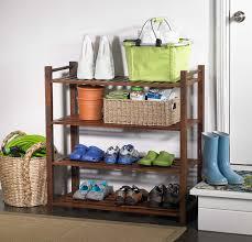 amazon com merry products slf0010110000 4 tier outdoor shoe rack