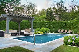 Backyard With Pool Ideas 16x32 Pool Ideas U0026 Photos Houzz