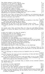 thanksgiving commentaries notes considerations