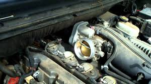trailblazer throttle body maintenance 4 2l youtube
