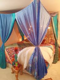 Boho Bed Canopy Boho Bed Canopy Made To Order Hippie Hippy By Hippiewild