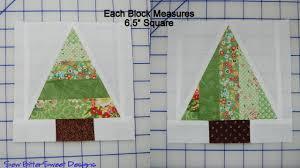 scrappy trees tutorial sew bittersweet designs