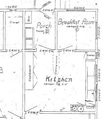 plan city homestead 1915 blueprints of our kitchen flipped from