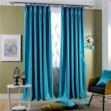 Teal Living Room Curtains Aliexpress Com Buy Modern Curtains Velvet Curtains Fabric