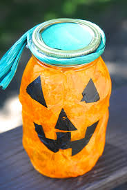 Halloween Candy Jar Ideas by Quick Halloween Craft Ideas For Kids Making Lemonade