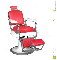 Old Barber Chair Vintage Barber Chair Isolated Stock Photography Image 33399122