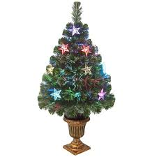 national tree company 3 ft fiber optic evergreen artificial