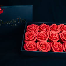 roses in a box chocolate roses box yumbles