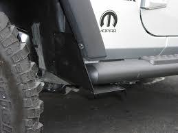 mopar side steps for jeep wrangler unlimited splash guards thoughts pics