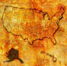 Map Of Usa And Alaska by Old Us Map Maps Pinterest Spain 16 And United States Map Old