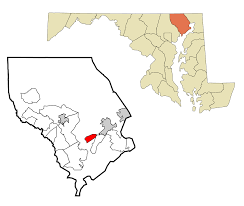 Zip Code Map Maryland by Riverside Harford County Maryland Wikipedia