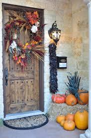 Front Door Decoration Ideas 40 Easy Thanksgiving Front Door Decorations Ideas