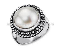 male rings designs images Customise male fashion freshwater pearl ring designs for men jpg